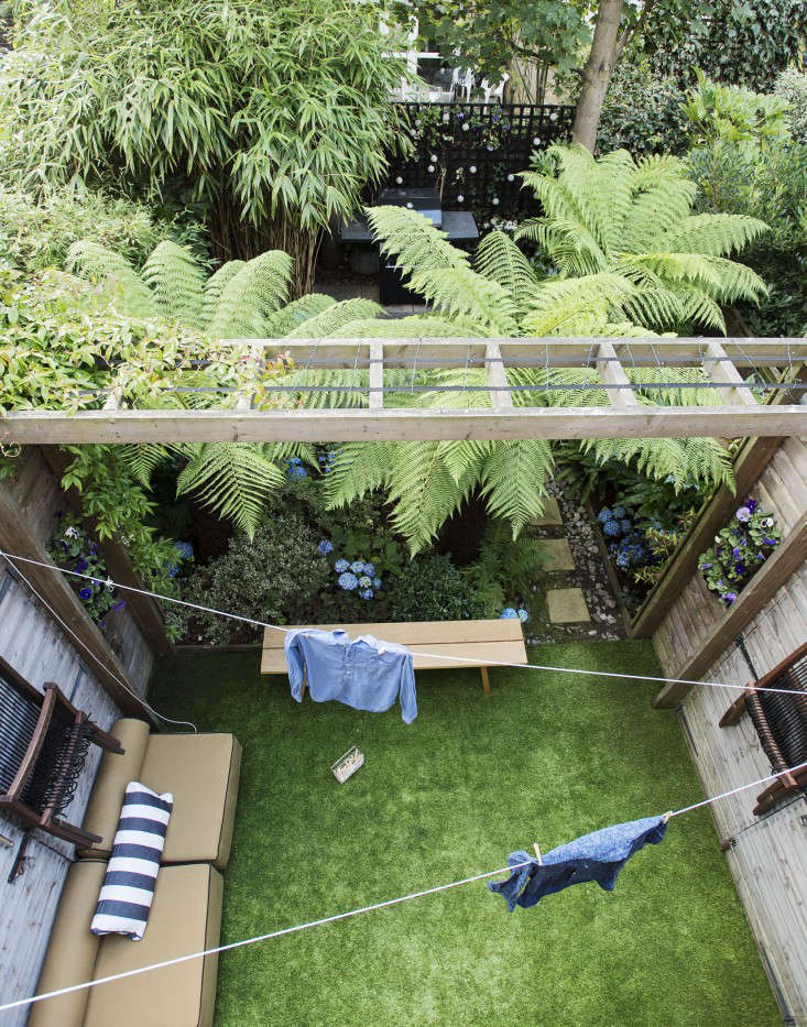 An Aerial View Of Christine Hanwayu0027s London Garden. Photograph By Matthew  Williams For Gardenista.