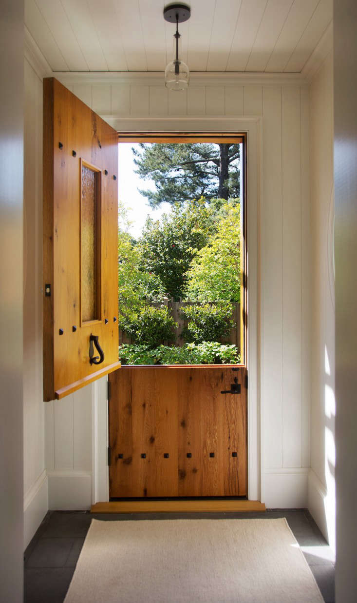 Architect Barbara Chambers has a dutch door at her home in Mill Valley California. & Hardscaping 101: The Ins and Outs of Dutch Doors - Gardenista