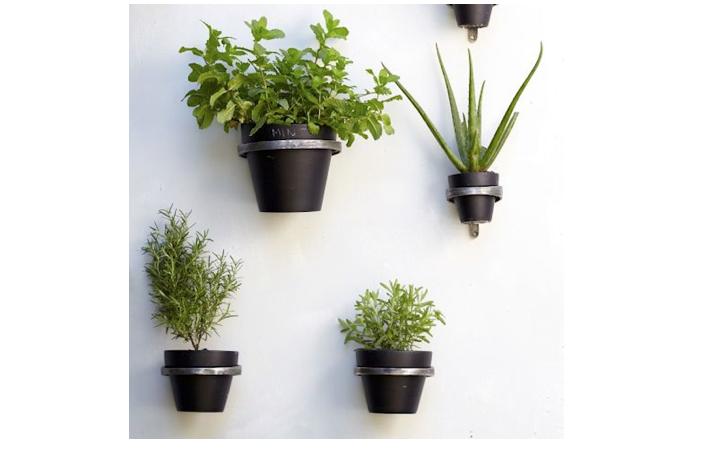 10 Easy Pieces Little Black Planters Gardenista