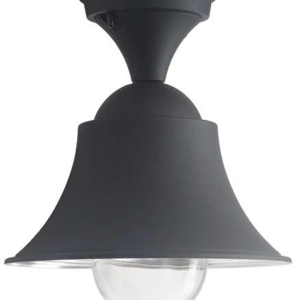 Matte Black Industrial Style Ceiling Light
