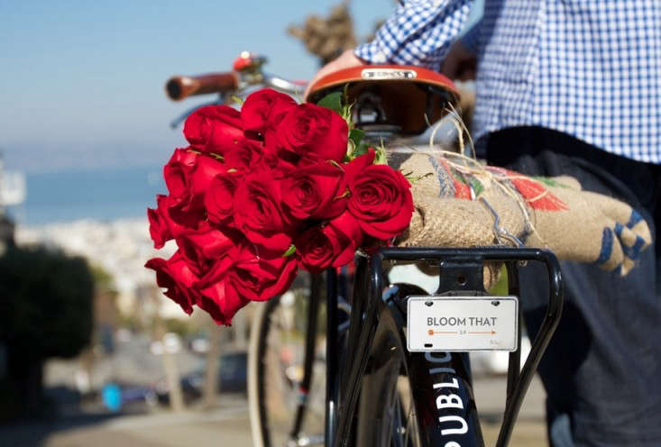 pedal powered petals same day flower delivery in sf gardenista