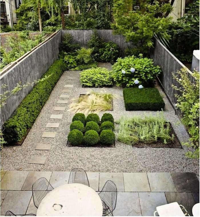 gravel squares - Garden Design Gravel Patio