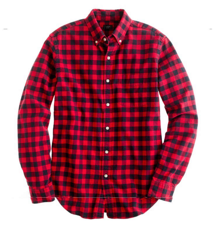 a3fcbbaa Its name came, the company says, from the herd of buffalo he owned. A men's Buffalo  Check Wool Shirt is $119 from Woolrich.