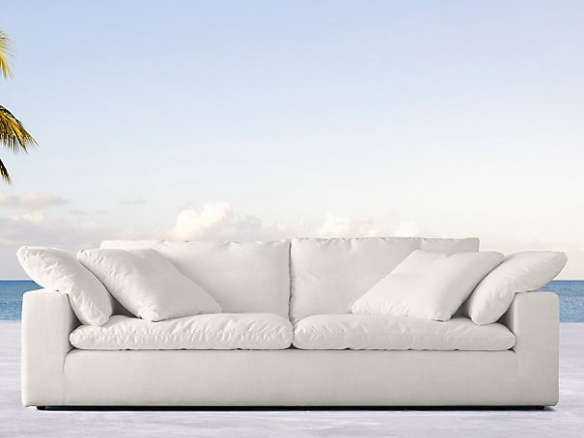 Cloud Track Arm Outdoor Sofa