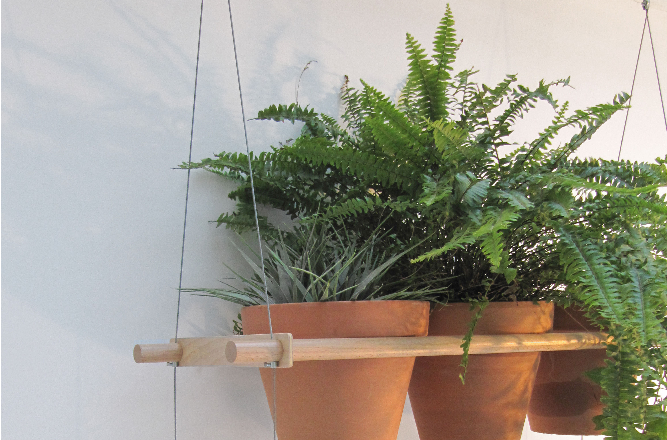 Exceptionnel Compagnie Hanging House Plant Shelves Gardenista