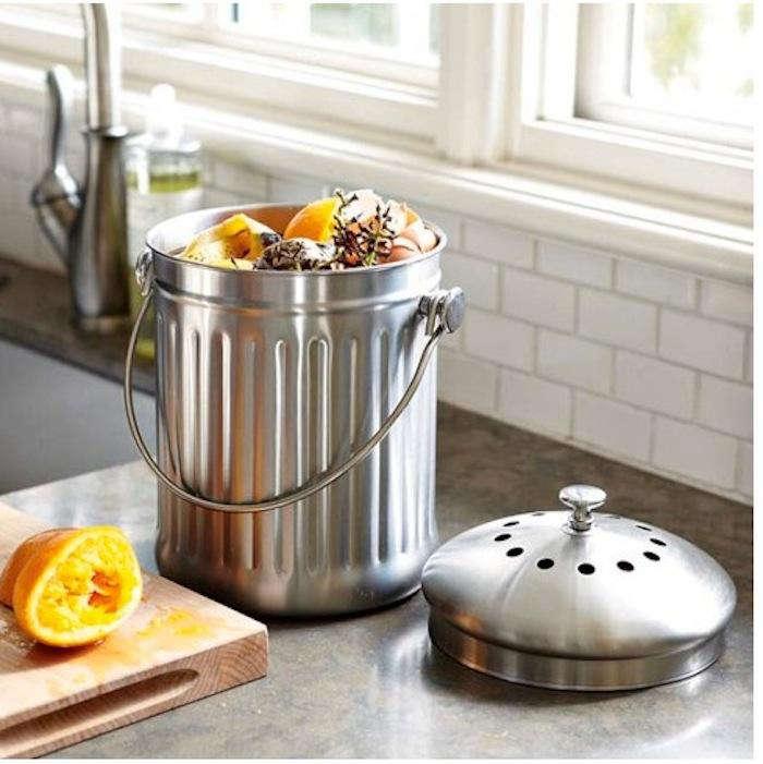 Easy Pieces Kitchen Compost Pails Gardenista