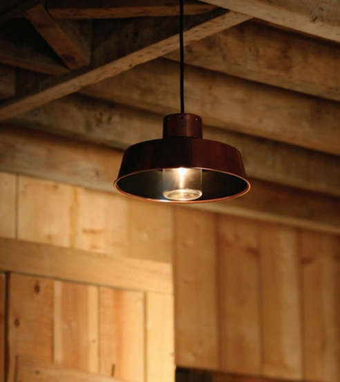 Factory Shop Solar Lights: Classic Outdoor Factory Pendant Light Faktory