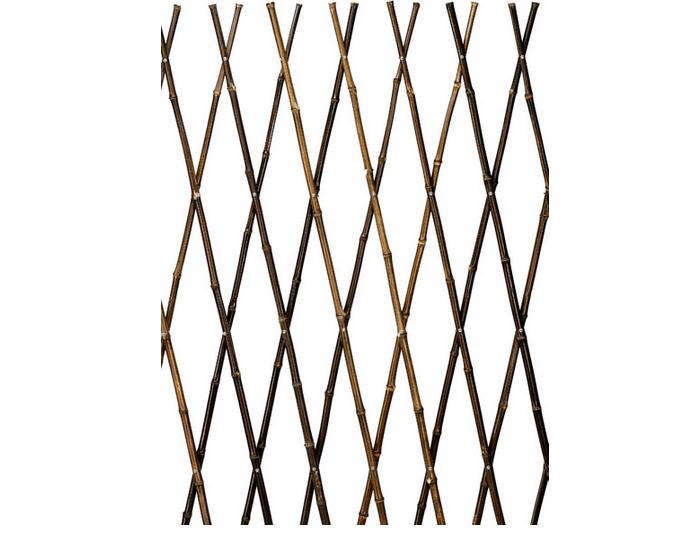 Black Bamboo Expanding Trellis