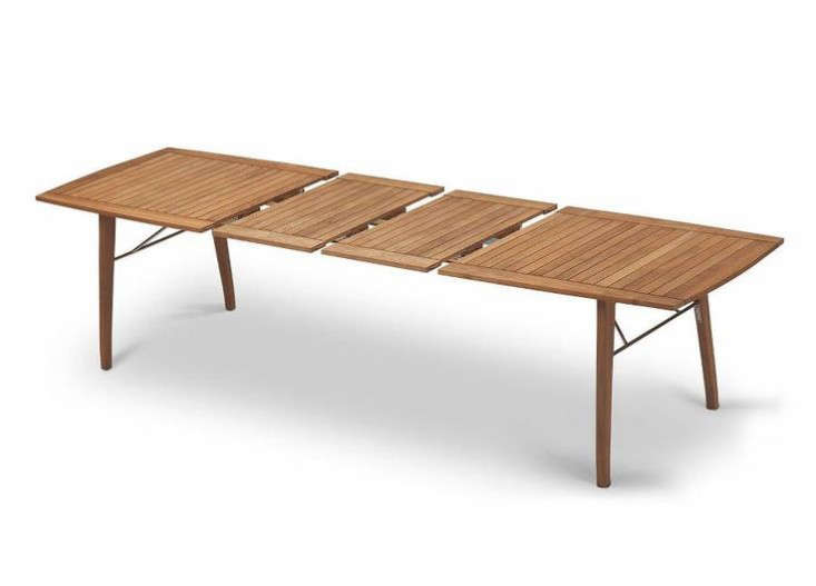 Outdoor Table For 10 Part - 47: Extendable-picnic-style-table-gardenista