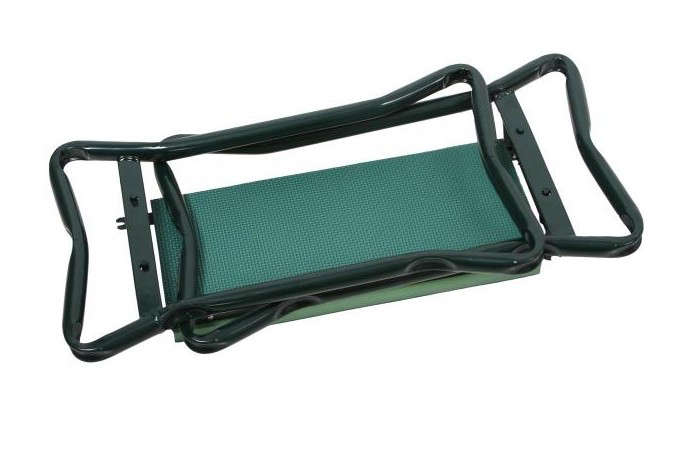 Above: Lightweight And Portable, A Folding Cushioned Folding Garden Kneeler  Bench Is £16.49 From Southend.