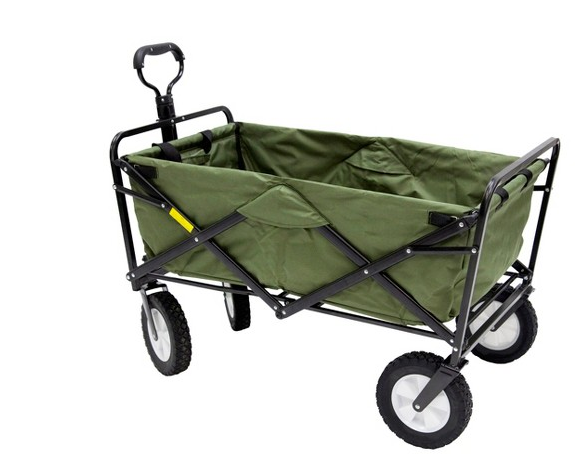 Above: A Mac Sports Folding Wagon Has A Steel Frame And Nylon Shell And Can  Carry Loads Of Up To 150 Pounds; $74.99 From Target.