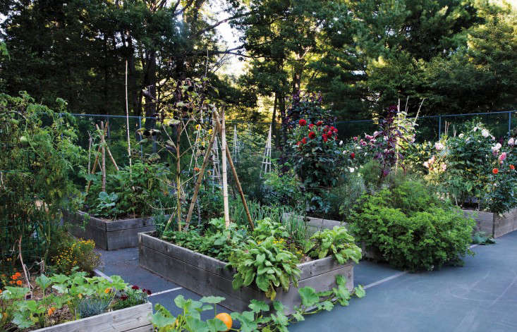 Steal This Look An Old Tennis Court Turned Kitchen Garden