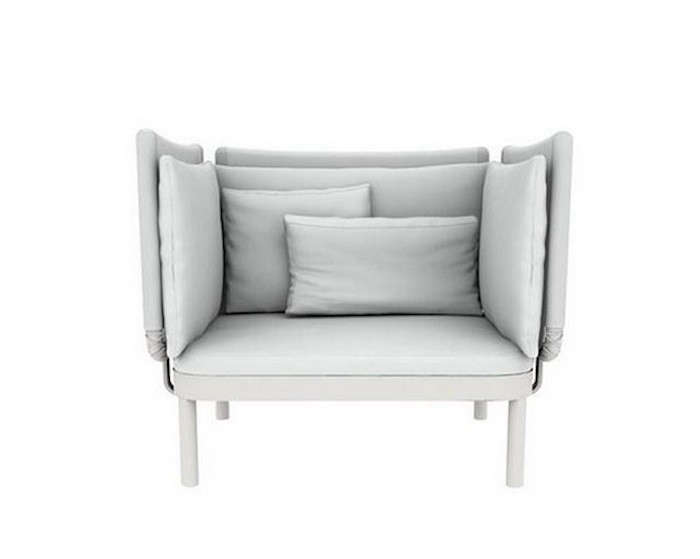 The Adjustable Frame Comes In Three Finishes (white, Sand, And Black) And  The Cushions ...