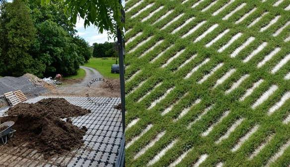 Zangra grass pavers - Prix dalle beton gazon ...