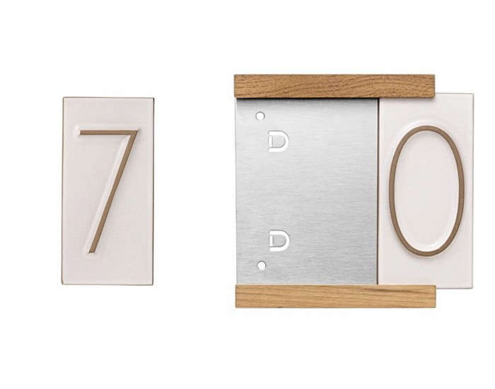 10 Easy Pieces: Tile House Numbers - Gardenista