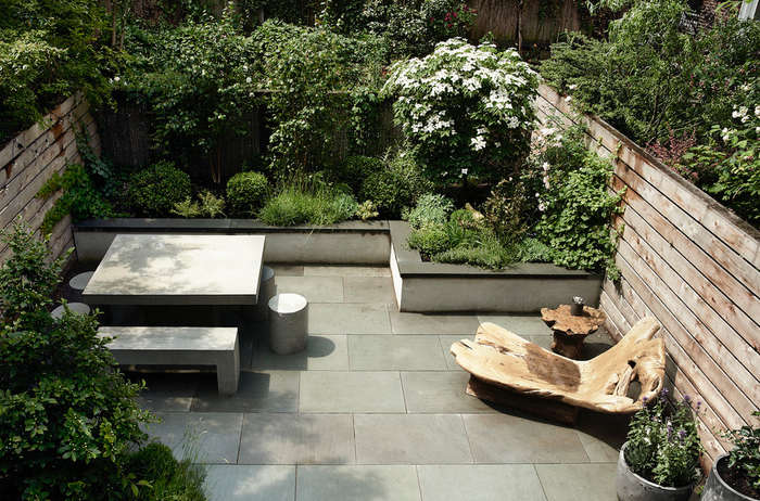 Landscaping 10 Classic Layouts For Townhouse Gardens Gardenista