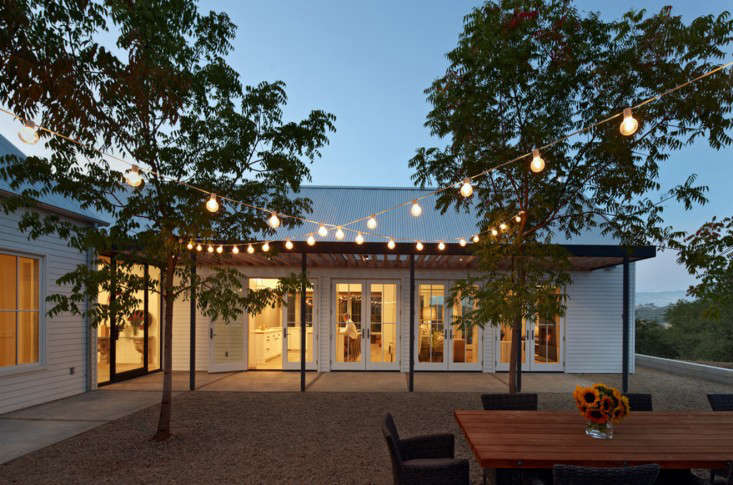Edison Outdoor String Lights 10 easy pieces outdoor holiday string lights gardenista above at a healdsburg ca house by nick noyes architecture the homeowner strung up large bulb cafe lights to create a canopy that i personally would leave workwithnaturefo
