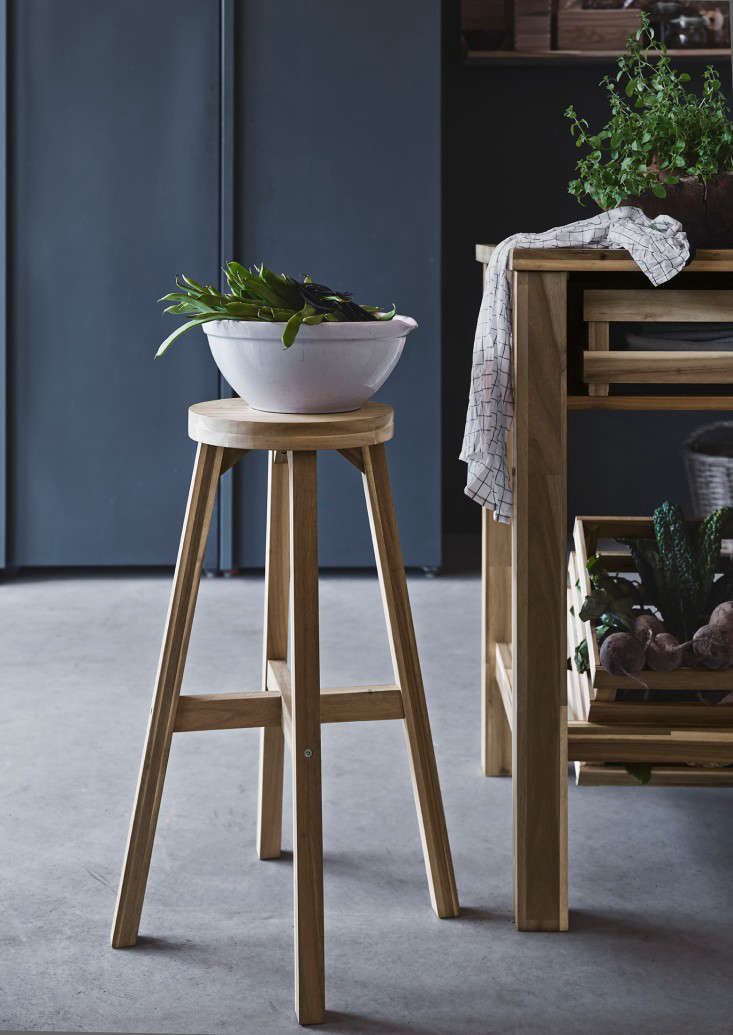 Above: A Skogsta Bar Stool Has A Seat Height Of Approximately 27.5 Inches  And Available In Ikea Stores In The UK For £20.