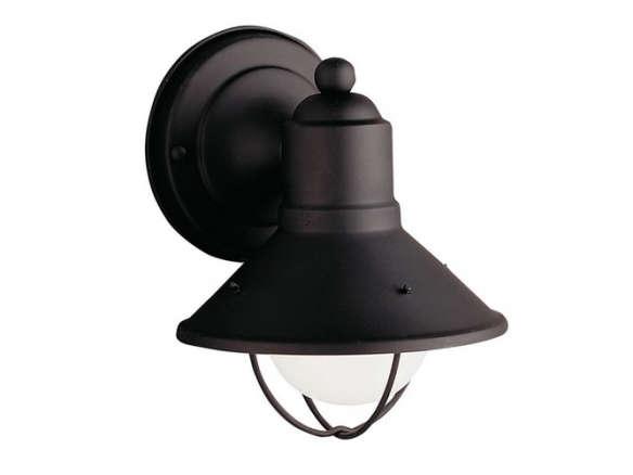 Kichler lighting 9021bk one light outdoor wall mount kichler lighting 9021bk one light outdoor wall mount aloadofball Gallery