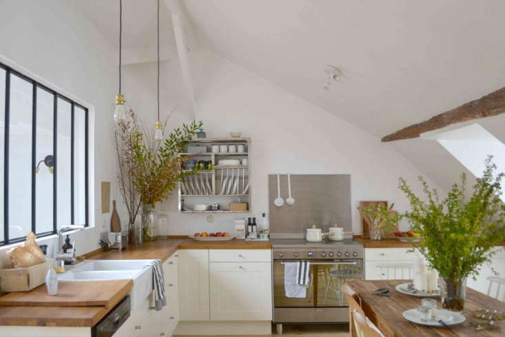 trending on remodelista the best ikea kitchen in paris gardenista