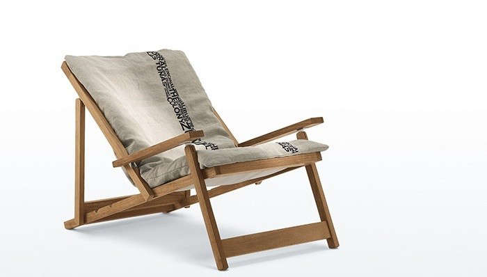 gardenista 100: the five best folding canvas deck chairs - gardenista