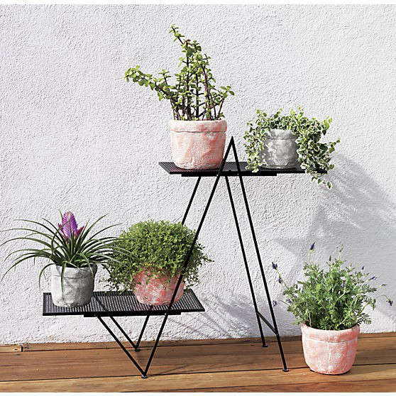 10 Easy Pieces Metal Plant Stands Gardenista
