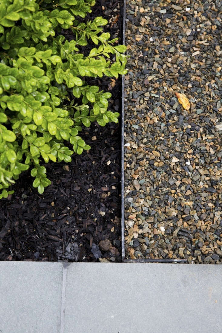 mulch gravel landscape edging by Matthew Williams