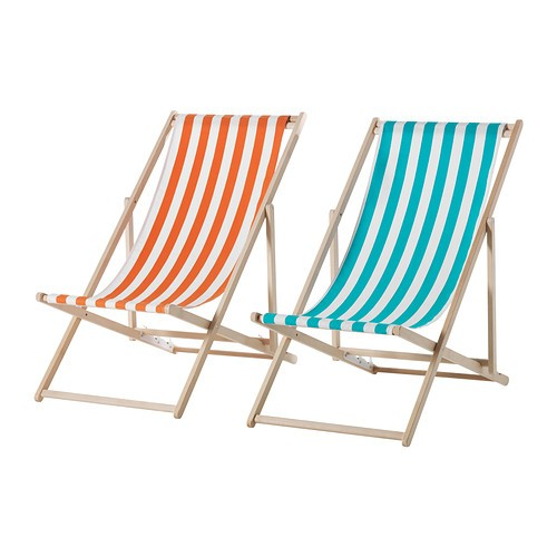 Above: A Mysingo Beach Chair With A Beechwood Frame And Washable Fabric  Sling, Available In Assorted Colors, Is $24.99 From Ikea.