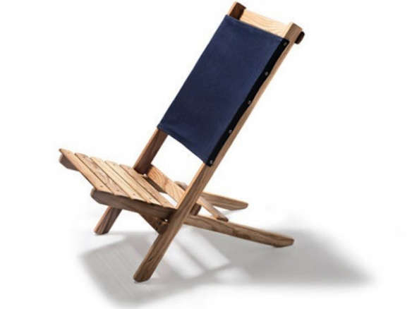 Brilliant Waxed Canvas White Ash Travel Chair Ncnpc Chair Design For Home Ncnpcorg