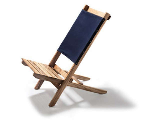 Above: A Saint Cyprien Deck Chair Has A Heavy Weight Cotton Canvas Sling;  Removable For Easy Washing. The Beechwood Chair Made In The Catalan Region  Of ...