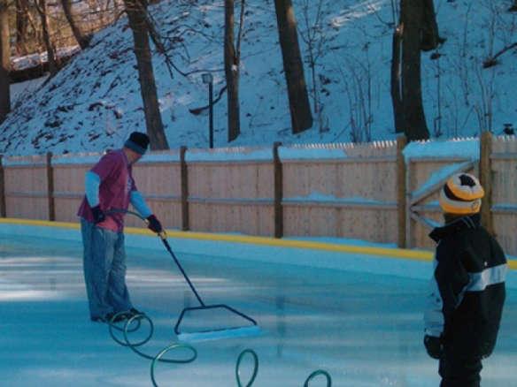 NiceIce Backyard Ice Rink Resurfacer