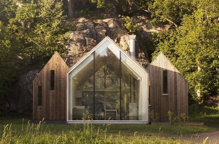 Outbuilding Of The Week Tiny Cabins In A Norwegian Wood Gardenista