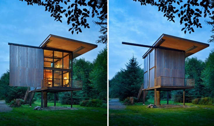 Architect Visit An Indestructible Cabin On Stilts By