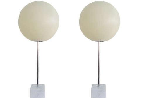 Sonneman Lollipop Globe Lamp