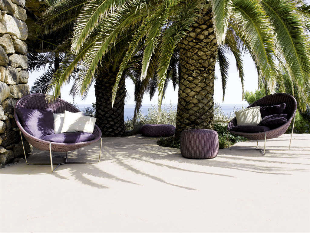 Made in Milan: Outdoor Furniture from Paola Lenti - Gardenista