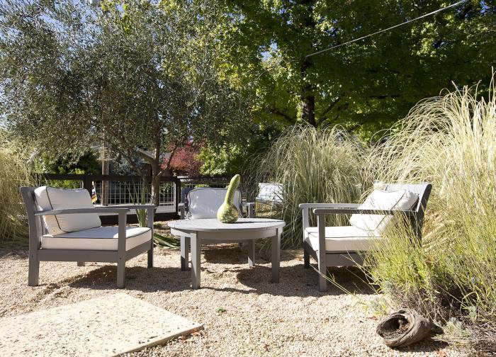 Marvelous Pea Gravel Patio .npa California Garden Ranch Style
