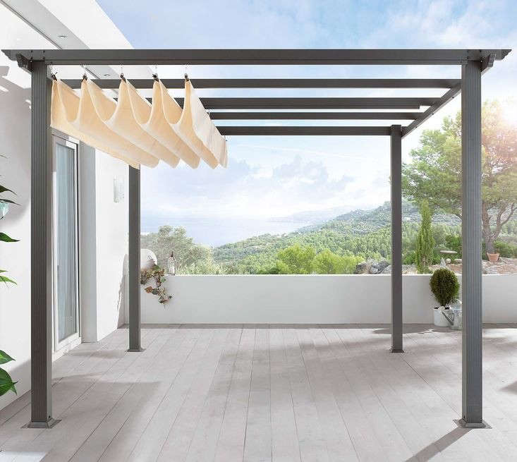 DIY: Pergola Kit, Canopy Included - DIY: Pergola Kit, Canopy Included - Gardenista