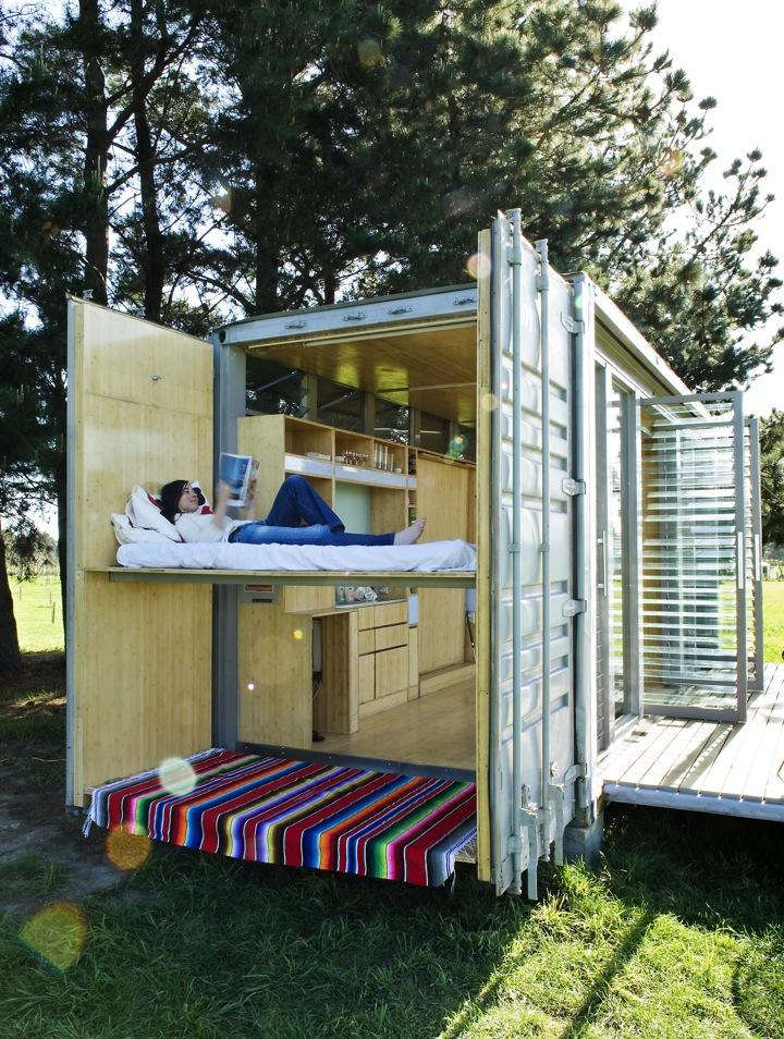 Superb Outbuilding Of The Week: A Shipping Container Transformed Into The Ultimate  Holiday House