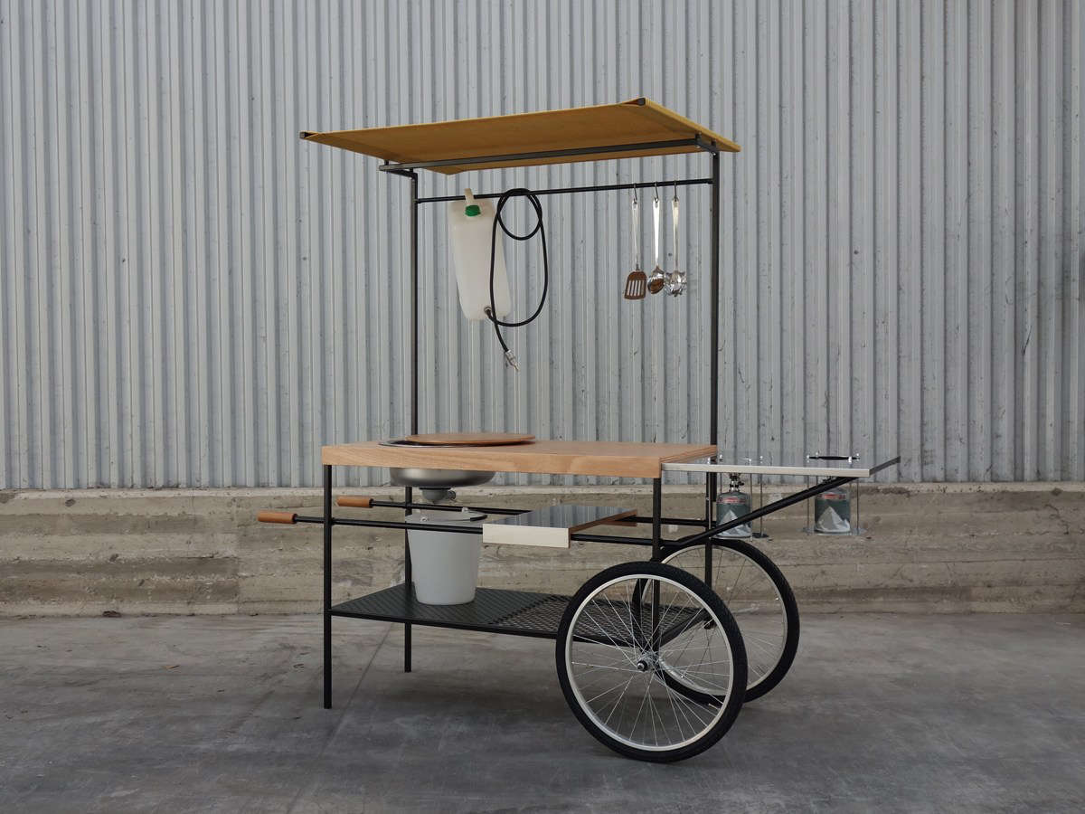 Above: From Italian Company Officine Tamborrino, The Q Cina Mobile Kitchen  Is Inspired By Street Food Stands. Itu0027s Made Of Powder Painted Tubular  Steel And ...