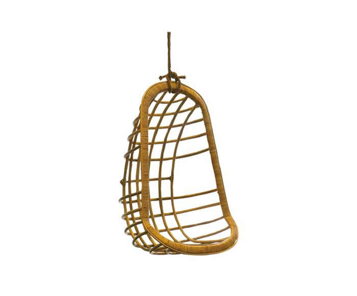 Rattan Hanging Chair Layla Grace Gardenista