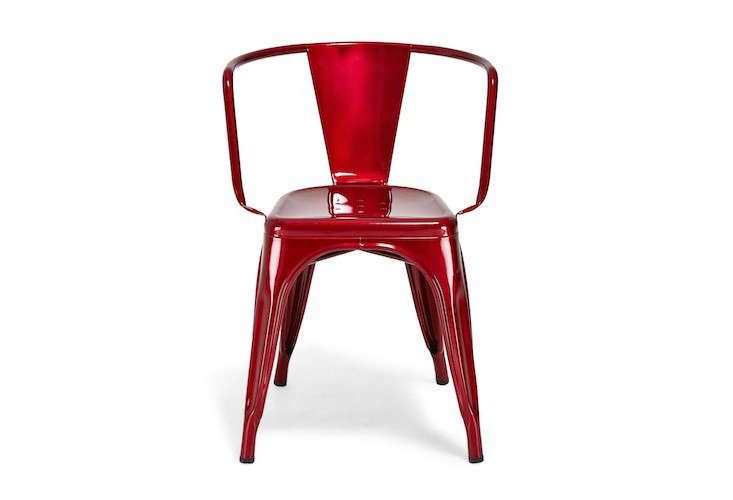Above: Created In The 1930s By French Metal Worker Xavier Pauchard,  Galvanized Steel Tolix Chairs Have Been Ubiquitous Since. A Low Back Style,  ...