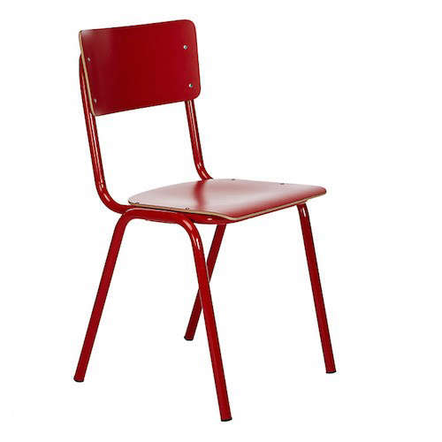 Above: Evoking Your Grandmotheru0027s Backyard, Vintage Red Perforated Metal  Folding Chair (from The 1940s) Are $100 Apiece From Rejuvenation (while  Quantities ...