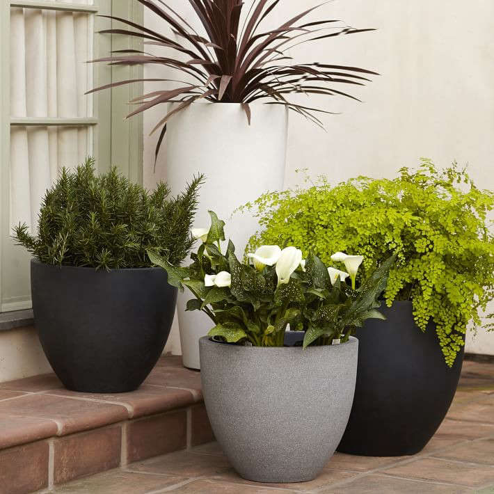 Curved Planters - Street Design  |Arched Planters