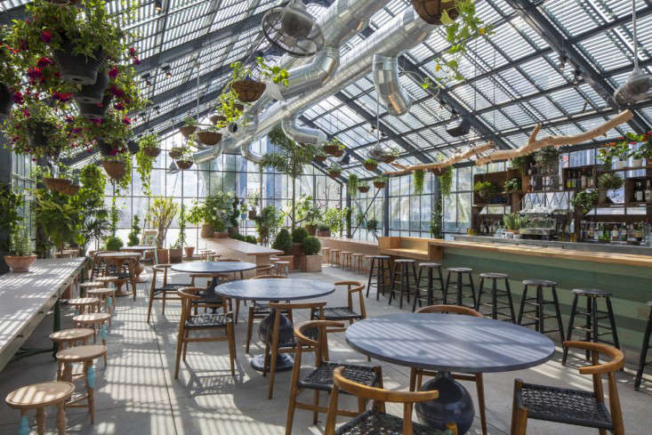 Restaurant Visit Roy Choi S Commissary Inside A Greenhouse In La