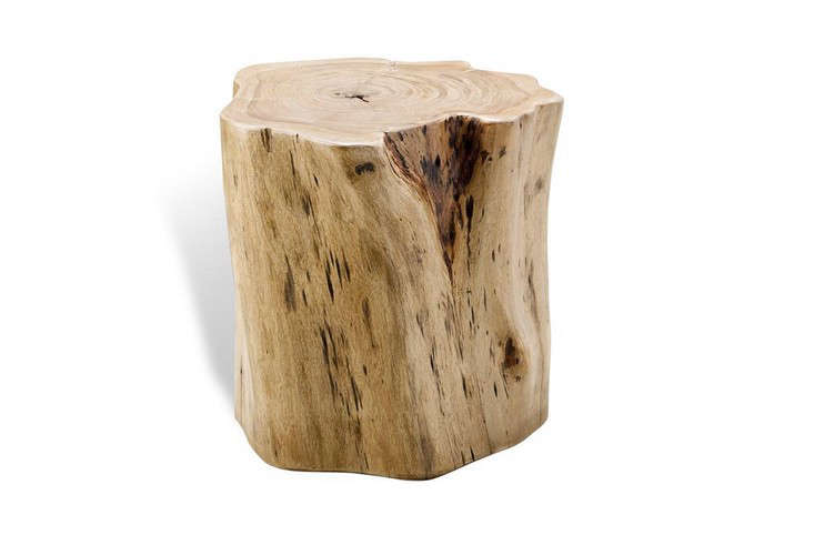 sc 1 st  Gardenista & Buckley Forest Rustic Wood Stump Stool islam-shia.org