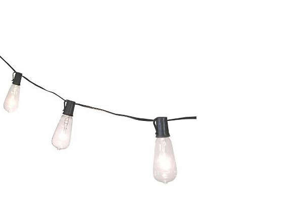 Smith & Hawken String Lights - 10 Easy Pieces: Cafe-Style Outdoor String Lights - Gardenista