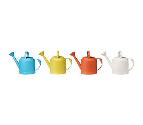 Ikea hacks a portable kitchen and indoor herb garden Small watering cans for indoor watering