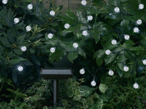 10 Easy Pieces Solar Lighting Gardenista