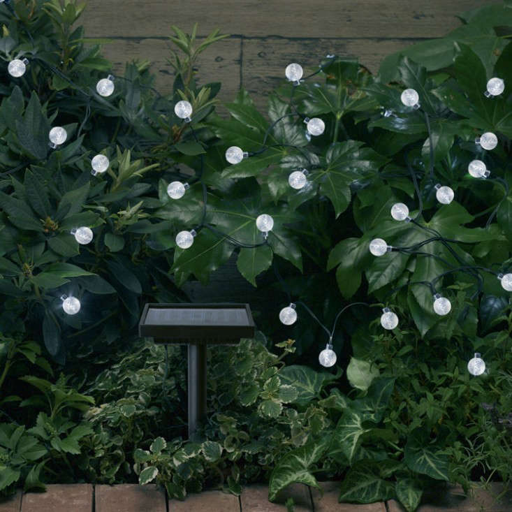 10 easy pieces solar lighting gardenista string lights aloadofball Image collections