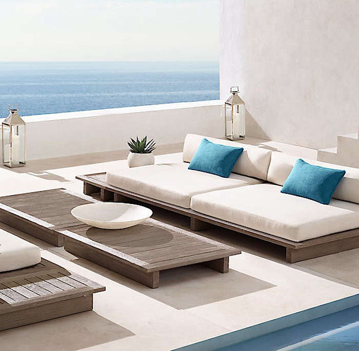above the maldives ottoman is - Restoration Hardware Outdoor Furniture